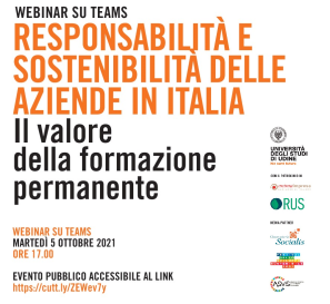 Responsibility and Sustainability of Companies in Italy