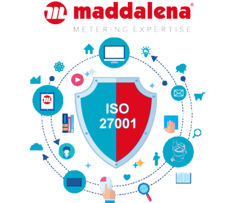 ISO 27001: CERTIFICATION RENEWAL CONFIRMED FOR MADDALENA SPA