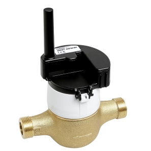 Positive displacement  water meter with 868 MHz radio module