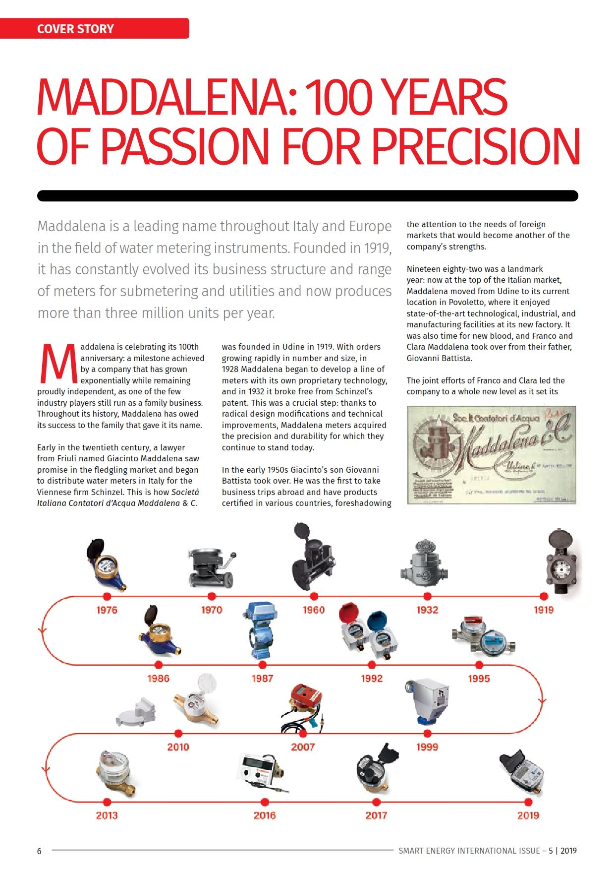 Editorial 100 years of passion for precision
