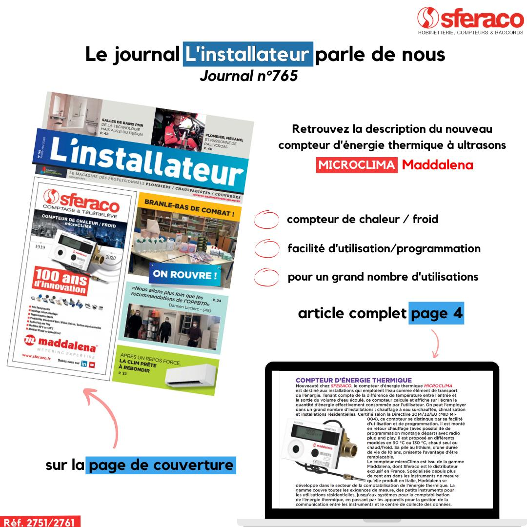Journal L'Installateur | Aprile May 2020