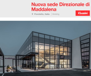 iGuzzini - Gallery Project NEW HEAD OFFICES FOR MADDALENA