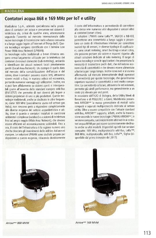 Modulo radio wireless M-Bus