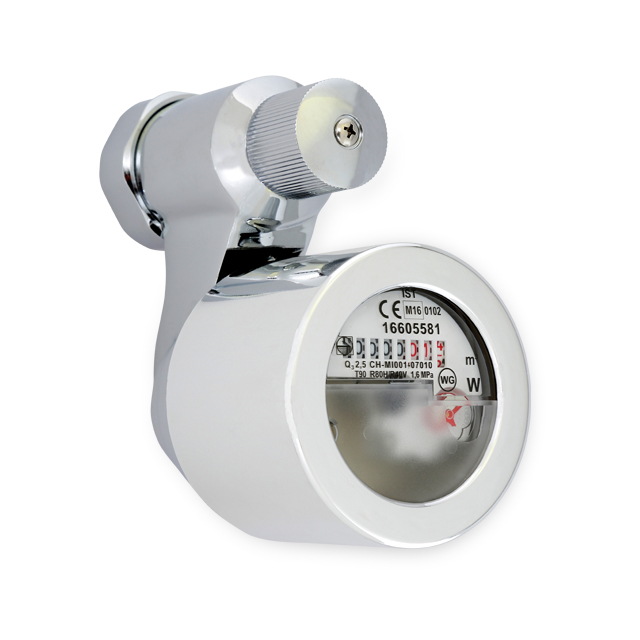 Maddalena single jet coaxial water meter