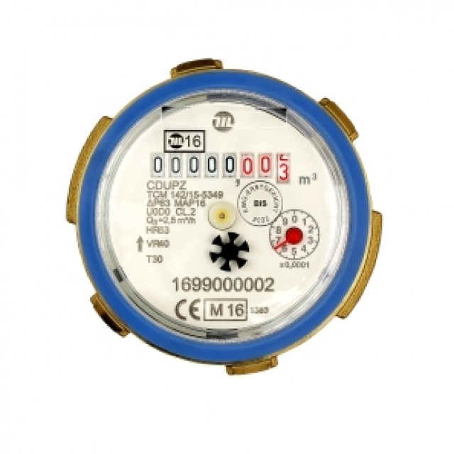 Maddalena single jet cartridge water meter
