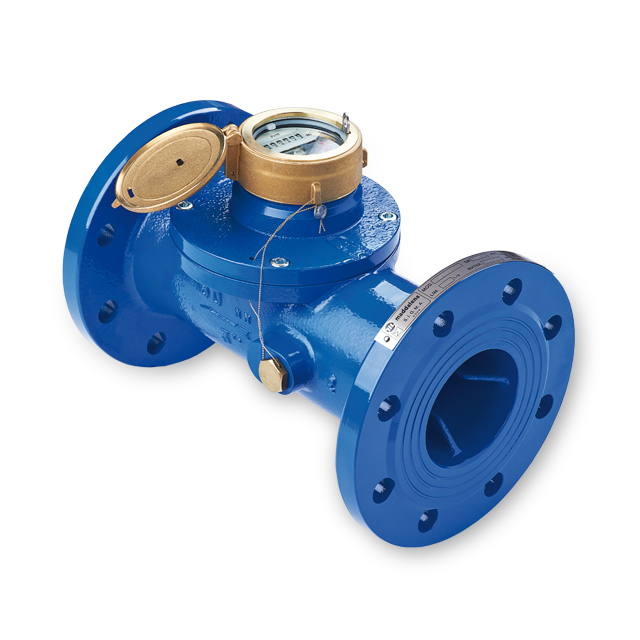 Woltmann water meter for irrigation