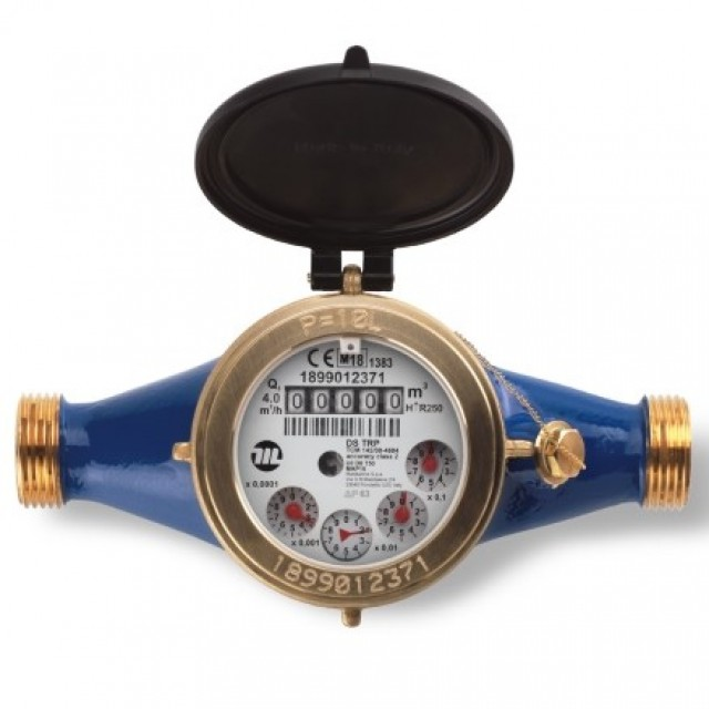 Maddalena multi-jet water meter residential use