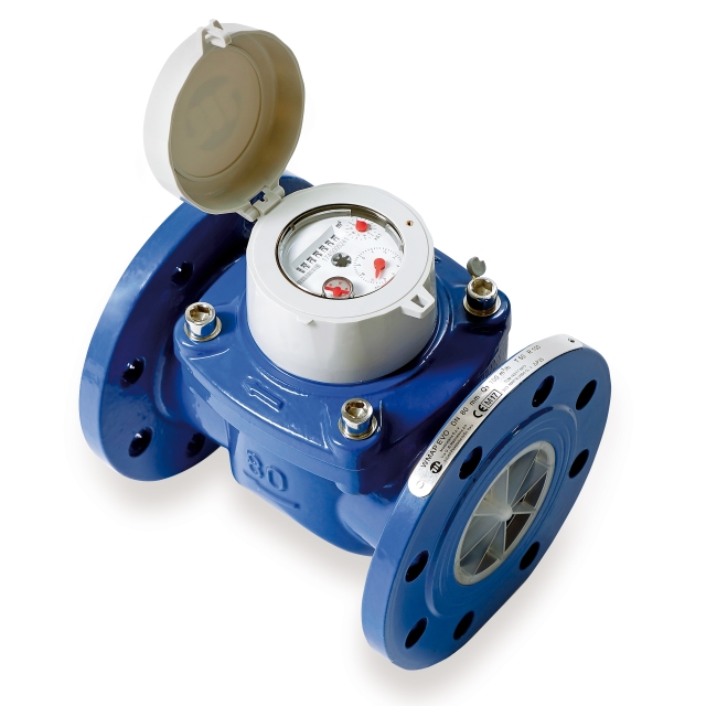 Woltmann water meter industrial use
